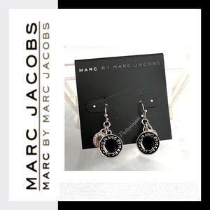 Marc by Marc Jacobs Dangle Logo Earrings New